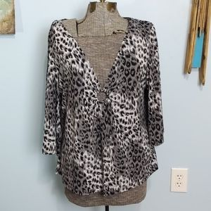 Layered top by Notations Woman Size 1X